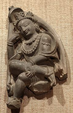 Seated Bodhisattva in Contemplative Pose Date: 5th–6th century Culture: India (Jammu & Kashmir, ancient kingdom of Kashmir) Medium: Stone Dimensions: H. 3 5/8 in. (9.2 cm) Classification: Sculpture Credit Line: Samuel Eilenberg Collection, Gift of Samuel Eilenberg, 1987 Accession Number: 1987.142.92