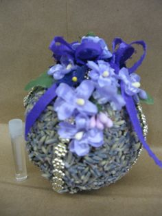 Lavender Ornament or Pomander