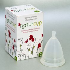 Naturcup Menstrual Cup: Available in three sizes.