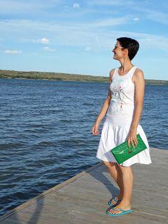 White summer dress #kissmylook