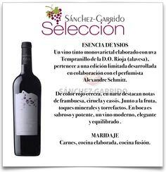 Esencia de Ysios en Selección Sánchez-Garrido #Anteequera #vinos