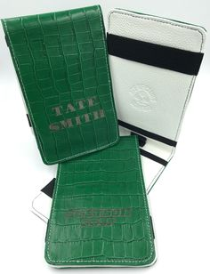 Golf Scorecard Holders for the Stetson University Golf Team