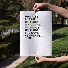 El valor de ser diferente #CIshop