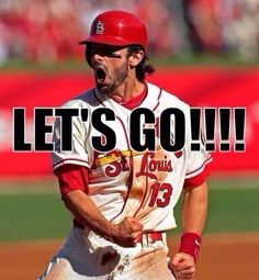 Let's go!!!! It's October, and that means St Louis Cardinals baseball. #NerdMentor