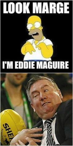 Eddie Maguire Homer Simpson