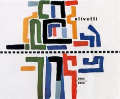 Olivetti commercial.