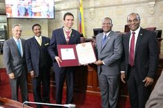 Colombian congress honors ADRA for its decades-long contribution to disaster relief and community building - http://adventistnewsonline.com/colombian-congress-honors-adra-for-its-decades-long-contribution-to-disaster-relief-and-community-building/  #adventist #adventista #adventistnews