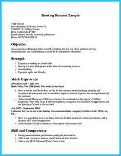 entry level bank teller resume template visualcv bank teller resume samples