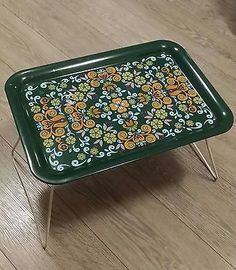 #Retro #1960s / 70s #breakfast tray,  View more on the LINK: 	http://www.zeppy.io/product/gb/2/221994207304/
