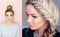 Hairstyles that Can Be Done In A Few Minutes 18 Cute Hairstyles You Can Do In Under 10 Minutes Of 97 Awesome Hairstyles that Can Be Done In A Few Minutes Heatless Hairstyles, Quick Hairstyles, Hairstyles For School, Curls For Long Hair, Curly Hair Styles, Dreadlocks, Glamour, Beauty, Awesome