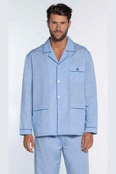 Pyjamas, Button Down Shirt, Men Casual, Shirt Dress, Mens Tops, Shirts, Vintage, Fashion, Cotton Pyjamas