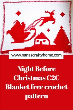 Crochet Afgans, C2c Crochet, Tapestry Crochet, Crochet For Kids, Free Crochet, Graph Crochet, Crochet Blankets, Crotchet, Christmas Crochet Patterns