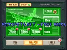 Zombie Gunship Gun Down Zombies Cheats Hack
