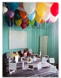 What a sweet and romantic thing to do! Great for an anniversary or valentines gift!