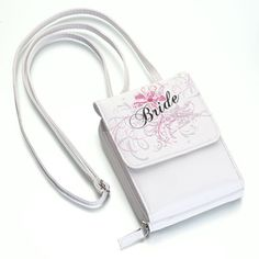 White Bride Purse