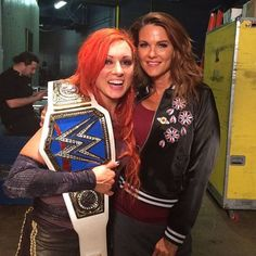 Becky Lynch & Lita #wwe