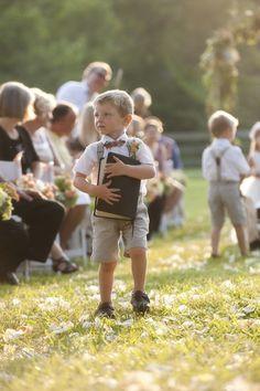 Little boys in bow ties