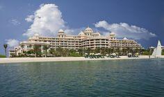 Kempinski Hotel & Residences Palm Jumeirah - Dubai Dubai Resorts, Best Resorts, Kempinski Hotel, Palm Jumeirah, Dubai Travel, Staycation, Mansions, House Styles, Manor Houses