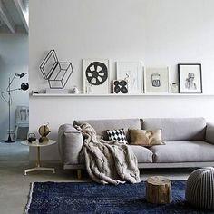 Grey Sofas Rock! | Nos Encantan los Sofás Grises! #design #living #diseño #diseñodeinteriores #interiordesign #movler