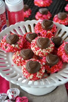 Vanilla Bean Valentine's Day Cookies