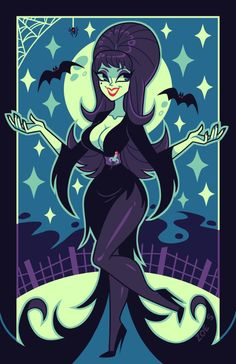 Buy Elvira Mistress of the Dark Art Print by ZoeStanleyArts. Worldwide shipping available at Society6.com. Just one of millions of high quality products available.