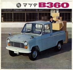 We are a community building a searchable database of the most interesting cars in the world. Each post highlights one model at a time, with a full. Japanese Cars, Vintage Japanese, Kei Car, Mazda Cars, Morris Minor, Car Advertising, Love Car, Commercial Vehicle, Car In The World