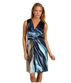 Cute blue and white Elie Tahari dress