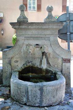 Fontaine du Pont d'Or ~  Barjols