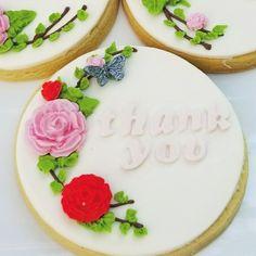 Sugar cookies make wonderful favors