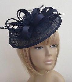 New Bespoke Black Hat Weddings Mother of The Bride Groom Ascot Races Ladies Day | eBay