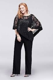 Plus Size Formal Dresses & Gowns for Special Occasions Mother Of The Bride Trousers, Mother Of The Bride Plus Size, Mother Of The Bride Dresses Long, Plus Size Retro Dresses, Plus Size Womens Clothing, Plus Size Fashion, Wedding Pantsuit, Wedding Suits, Gown With Jacket