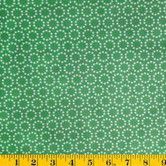 Juliana Horner Quilt Fabric- Homestead Star Circle Green