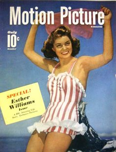 """Esther Williams...read Thistle's tribute to """"America's Mermaid"""" in our summer issue: http://issuu.com/thistlemag/docs/freedom-summer2013"""