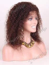Kinky Curl Glueless Full Lace Wig GLW033