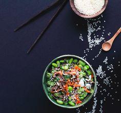 Soba Noodle Salad with Edamame