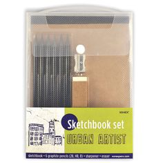 Urban Artist Sketchbook Kit by Xonex