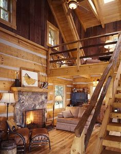 The great room and upstairs loft are perfect places for rolling out extra sleeping bags and air mattresses.