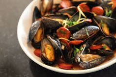Mussels with Chorizo and Smoked Paprika