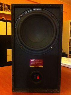 Samsung Subwoofer 3 ohm Hi Fi - Home Theatre Home Theater, Theatre, Digital Camera, Baby Items, Ps, Coupons, Home Appliances, Samsung, House