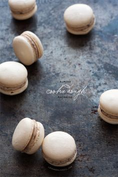 Almond Cookie Dough Macarons Recipe on Yummly