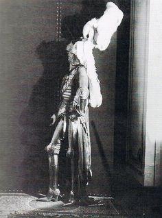 Luisa com um vestido de Cesare Borgia, em 1925