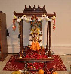 Pin von mantra gold coatings auf pooja room puja pinterest for Indische wohnungseinrichtung