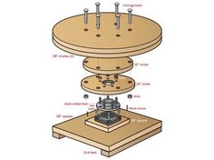 Heavy Duty Turntable for 3D Scanning People