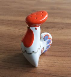 Vintage Salt or Pepper Shaker Rooster   great by vintagerussia