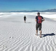 White Sands: Our National Park - Matt and Karen White Sands New Mexico, Guadalupe Mountains National Park, Southern New Mexico, Karen Smith, Carlsbad Caverns National Park, White Sands National Monument, Three Rivers, Park Service, The Dunes
