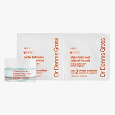 Dr. Dennis Gross Skincare Smooth & Flawless: Peel + Moisturize, $48 Buy it now