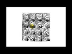 ▶ Zentangle Patterns | Tangle Patterns? - Maelstrom - YouTube