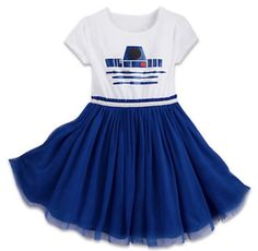 NWT Disney Star Wars R2D2 Girls XL Dress  Authentic Disney Parks Merchandise