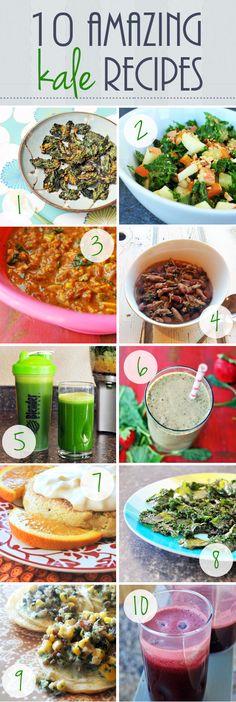 10 Amazing Kale Recipes