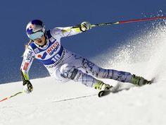 Lindsey Vonn wins giant slalom